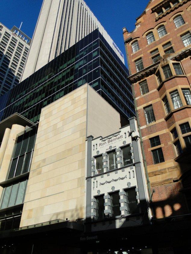 Post - Sydney - CBD - Contrast