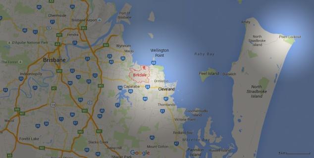 Post - Redland - Map