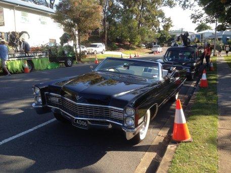 Une Cadillac pour Halloween, y'en a qui mettent les grands moyens !