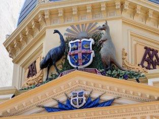 Les symboles de l'Australie...