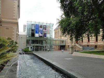 South Australian Museum, ou on a passe le temps pendant l'averse