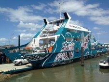 Our aboriginal ferry.