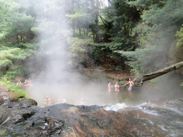Post - NZ 2 - Rotorua - Kerozene Creek