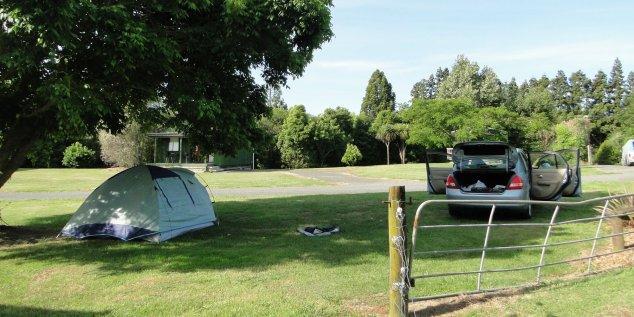 Post - NZ - Campsite Coromandel