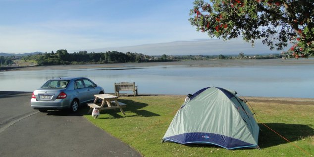 Post - NZ - Campsite Tauranga