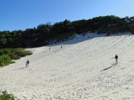 Sandboarding...