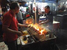Food preparation - outside