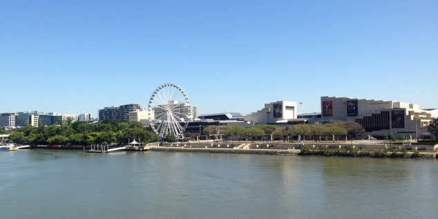 Post - Brisbane - River - Southbank