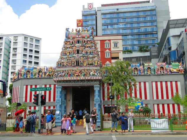 Post - Singapore - Little India - Sri Veeramakaliamman