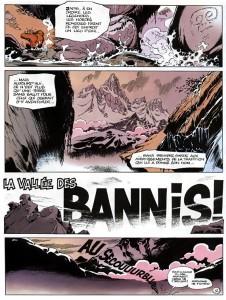 Post - Blue Mt - Spirou et Fantasio - Vallee des Bannis 2
