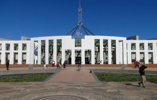 Post - Canberra - Parliament