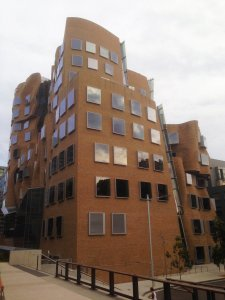 Dr Chau Chak Wing Building, by Frank Gehry