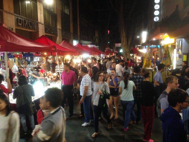 Post - Sydney - Night Market
