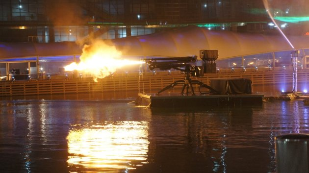Darling Harbour fire