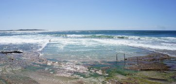 Oceanic Pool for low tide...