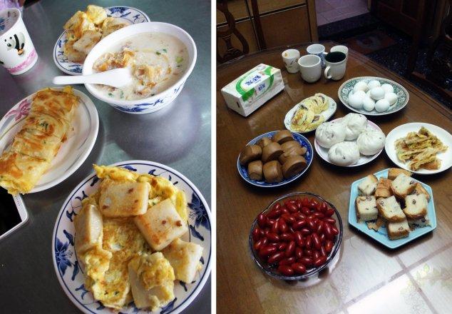 Post - Taiwan - Eating - Breakfast