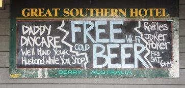 Berry - FREE BEER :)