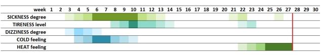 Pregnancy Chart 2 - Green